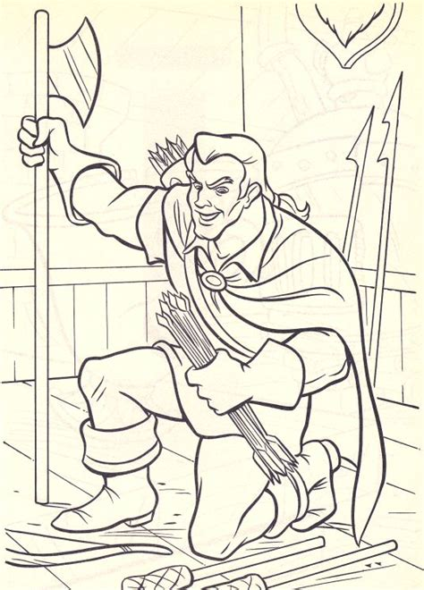 Gaston Free Colouring Pages Gaston Coloring Pages