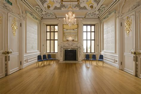 picture of a room ante room harlaxton manor archives