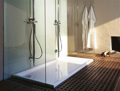 piatto doccia duravit duravit starck slimline piatto doccia rettangolare