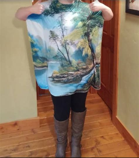 bob ross painting costume bob ross painting dress