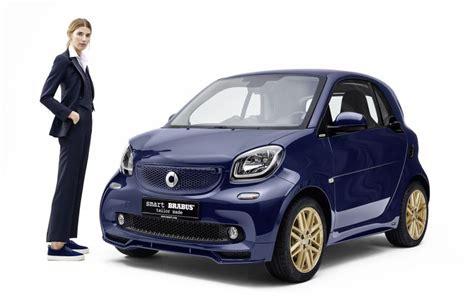 Tv Mobil Brabus mobil smart didandani untuk til di pameran busana
