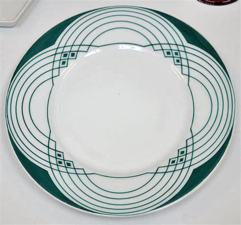 linear pattern of history file peter behrens porcelain plate linear pattern 1901 bm