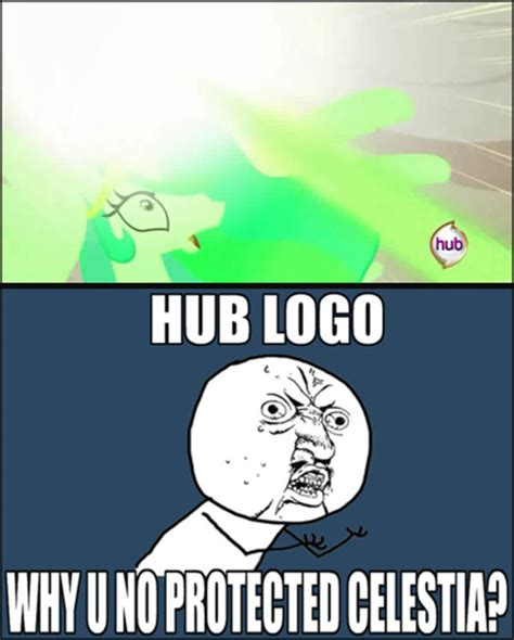 Meme Logo - my little pony friendship is magic hub logo meme