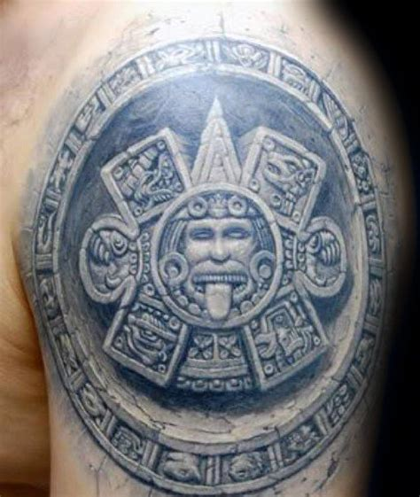 mayan calendar tattoo designs 40 mayan calendar designs for tzolkin ink ideas