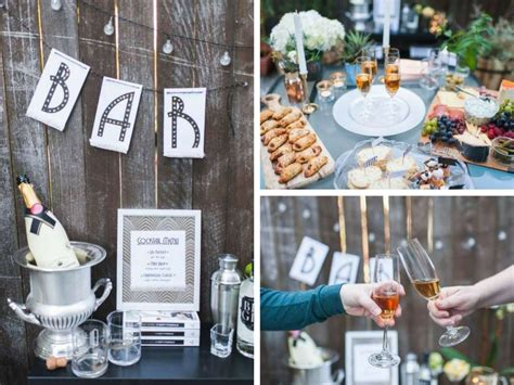 great gatsby themes time outdoor great gatsby party bridal shower ideas themes