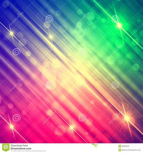 Rainbow Pink abstract motley rainbow background with shining lines and