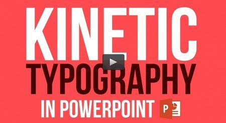 Kinetic Typography In Powerpoint Make An Animation Video Avaxhome Kinetic Typography In Powerpoint
