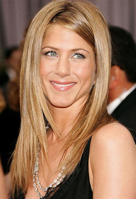 how to angle hair around face happy birthday jennifer aniston see her most iconic