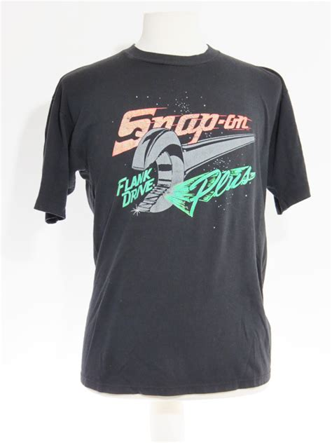 T Shirt Snap On 90s snap on tools black t shirt 5 vintage