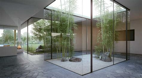 desain taman ala zen garden jepang  rumah minimalis