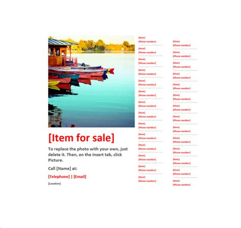 12 microsoft flyer templates download free documents in
