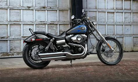 Motorrad Gabel Gestaucht by Harley Davidson Dyna Wide Glide 2015 Bike Bildergalerie