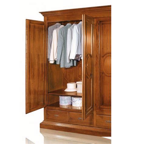 armadio con cassetti armadio classico con 4 ante e 4 cassetti