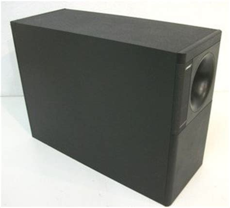 bose acoustimass 7 speaker system ideal for stereo or