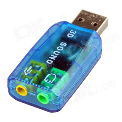 Usb Sound Card 5 1 3d Sound 5 1 professional 3d sound and 5 1 surround usb 2 0