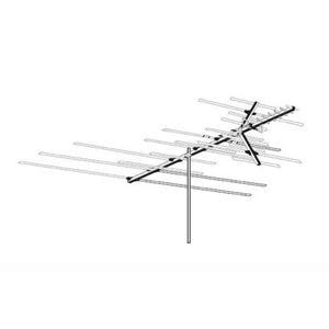 antennacraft hd850 heavy duty outdoor tv antenna vhf uhf
