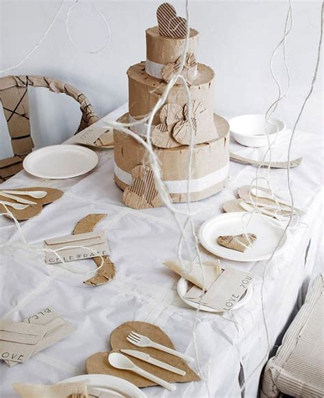 Paper Table Decorations To Make - top 10 s day table settings