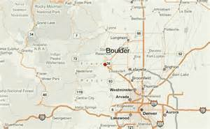 of colorado boulder map boulder location guide