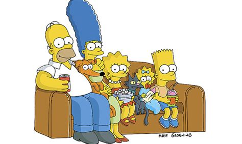 the simpsons sitting on the couch watch the simpsons make obligatory frozen reference