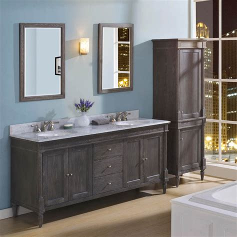 Rustic Chic Bathroom Vanity by 33 Stunning Rustic Bathroom Vanity Ideas Remodeling Expense