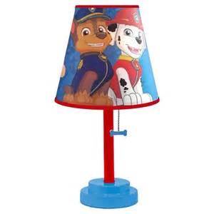 paw patrol table lamp target
