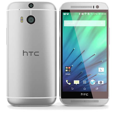 verizon android htc one m8 32gb android smartphone for verizon silver condition used cell phones