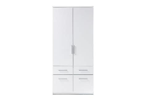 Kleiderschrank 90 Cm Breit Weiß by Kleiderschrank Box 2 In Wei 223 90 Cm Breit