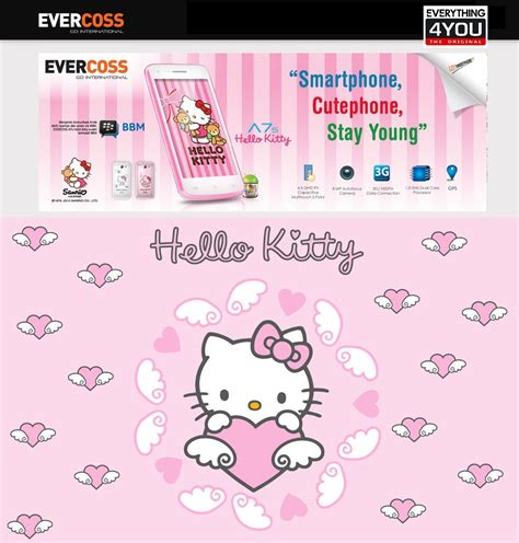 Buku Tulis Hk Sanrio 18x25 jual evercoss a7s hello sanrio limited edition bonus pack everything4u