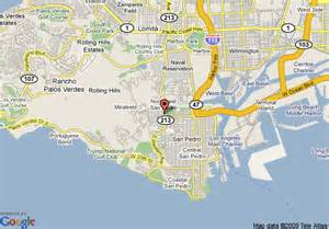 palos verdes california map map of best value inn rancho palos verdes rancho palos verdes