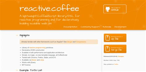 html reactive design 9 minimal frameworks for front end javascript development