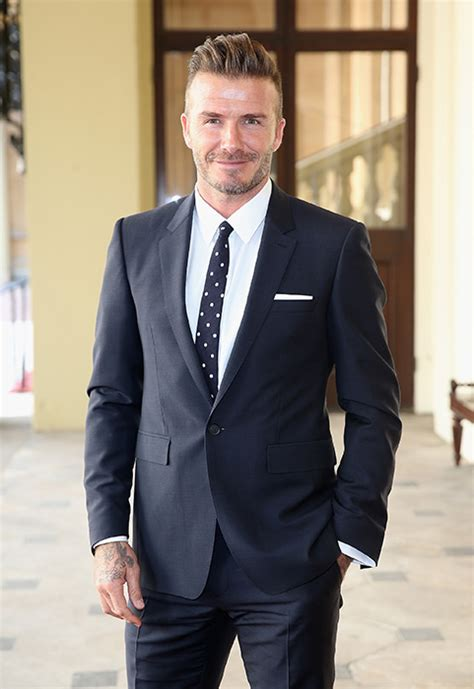 Beckham Became A by David Beckham Sets His Sights On A Acting Career