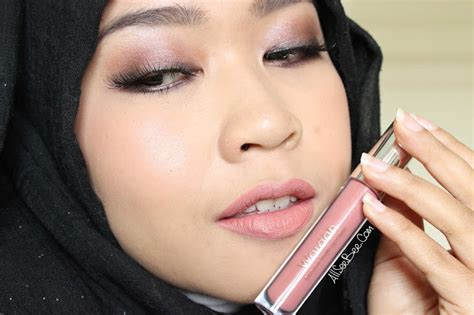 Wardah Lip See You Latte review wardah exclusive matte lip 03 see you latte