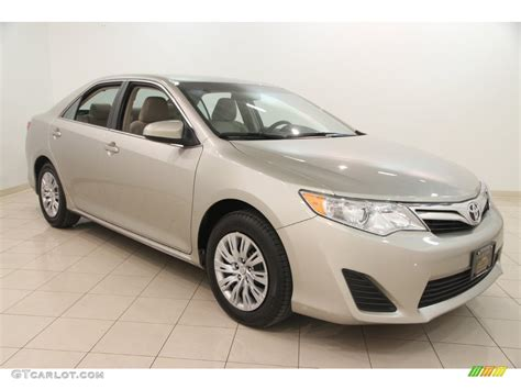 Toyota Camry Creme Brulee 2014 Creme Brulee Metallic Toyota Camry Le 109872677
