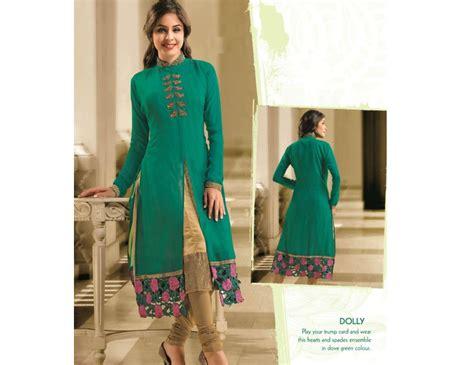 kurti pattern with jacket party wear kurti in jacket pattern