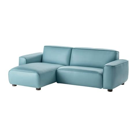 ikea leather sofa and chaise dagarn two seat sofa with chaise longue kimstad turquoise