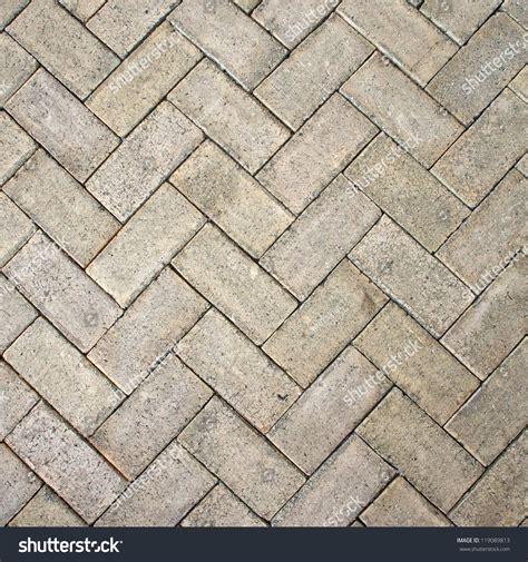 zigzag brick pattern light brown zigzag brick block floor stock illustration