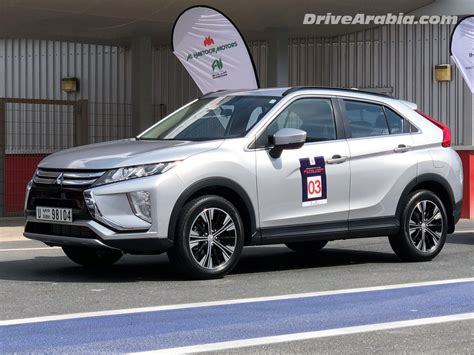 mitsubishi dubai drive 2018 mitsubishi eclipse cross in the uae