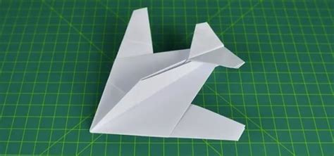 Folding Paper Aeroplanes - how to fold a paper plane stealth fighter 171 origami