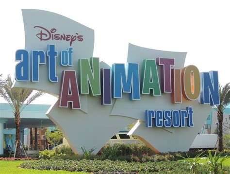 disney s art of animation build a better mouse trip disney s art of animation resort sign