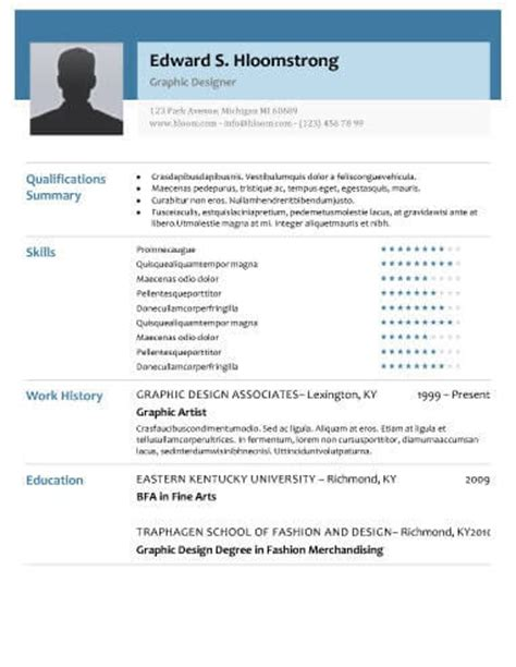 Resume Sample Download For Freshers by Modern Resume Templates 64 Examples Free Download