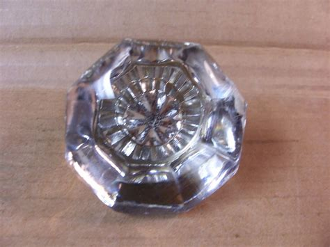 Glass Door Knobs Ebay Antique Glass Door Knob 1920 Quot S 8 Sided Brass To Find 2 1 8 Quot Dia Ebay