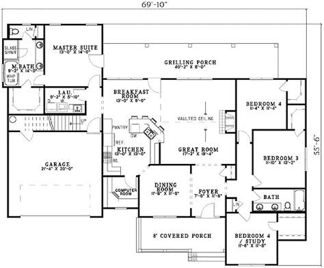 computer room floor plan private master suite and a computer room 5987nd