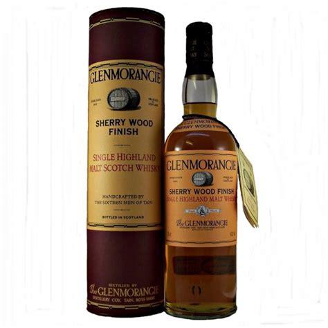 glenmorangie wood glenmorangie sherry wood finish single malt whisky