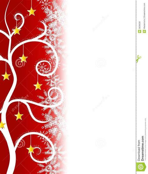 rot stars weihnachtsbaum rand stock abbildung bild 3636639