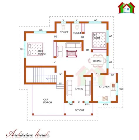 house designs and floor plans in kerala amazing 1000 sq ft house plans kerala style homes zone