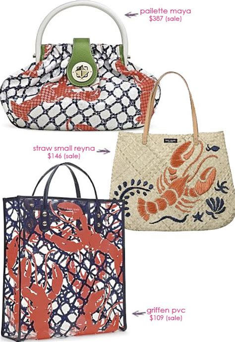 Purse Deal Kate Spade Cape Cod Lobster Bags by Purse Deal Kate Spade Cape Cod Lobster Bags