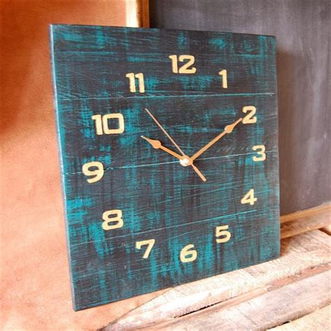 diy clock projects how to make a pallet wood clock diy craft projects