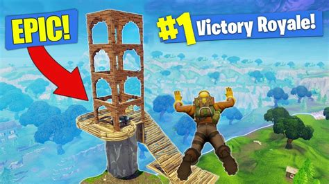 fortnite muselk building a legendary launch pad in fortnite battle