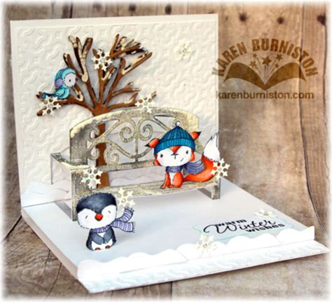 bench card template i am not left handed pop it ups winter garden bench card