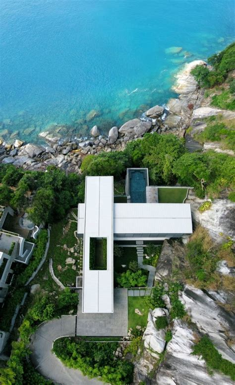villa amanzi layout villa amanzi a sumptuous house on the rocks homedsgn